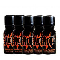 HOT x 5 - Bottle of15ml -...