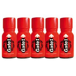 Gate x 5 - Bottle of 15ml -...